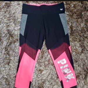 Pink bling leggings